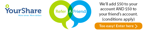 Refer-a-friend promotional image.